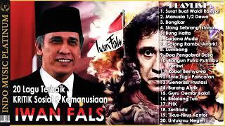 Gambar cover 20 LAGU TERBAIK KRITIK SOSIAL & KEMANUSIAAN (IWAN FALS)