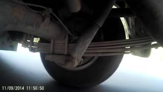 Задняя подвеска TOYOTA HI ACE ,рессоры,штатные амортизаторы KYB(, 2014-09-14T08:05:03.000Z)