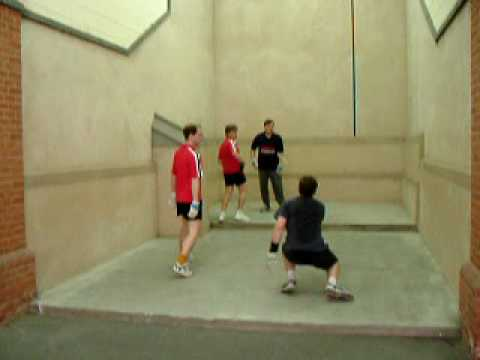 Eton Fives: Old Wulfrunians vs North Oxford