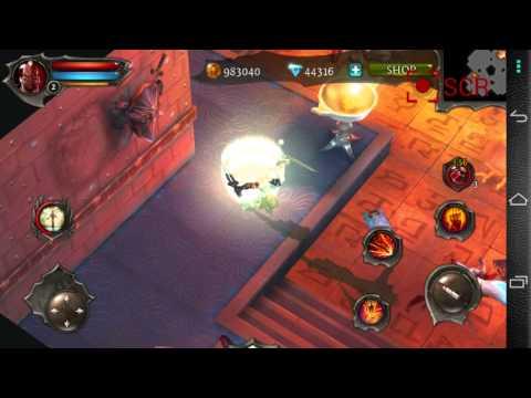 Dungeon Hunter 4 Full Máu Mana Skill Liên Tục Android