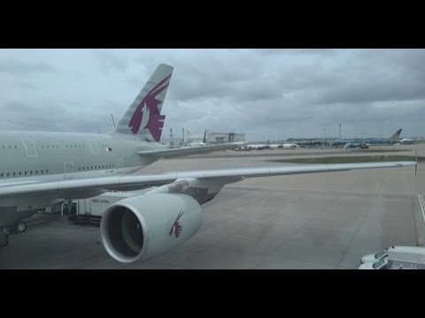 ✈ Qatar Airways | A380-800 | Doha to London