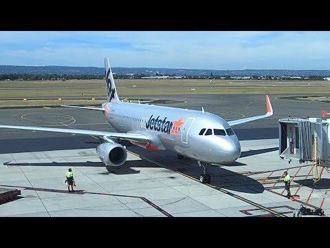 Jetstar Flight Adelaide to Melbourne A320