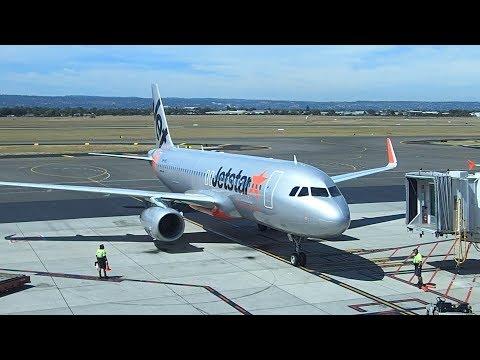 Jetstar Flight Adelaide To Melbourne A320