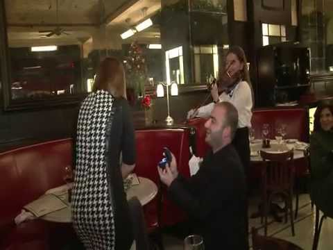 Romantic Proposal at Métropole Brasserie, Beirut - Lebanon