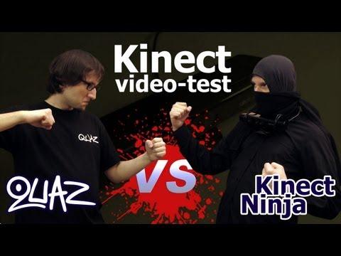 Kinect - archiwalny video-test quaza
