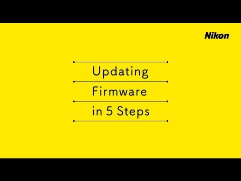 Updating COOLPIX Camera Firmware in 5...