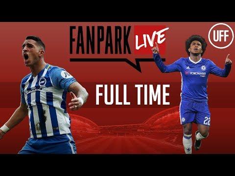 Brighton 0 - 4 chelsea - full time phone in - fanpark live