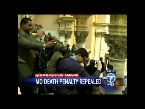 Maryland house approves death penalty repeal