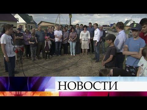 """В российских регионах начали выполнять поручения президента после """"Прямой линии""""."""