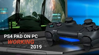 Use Ps4 controller on Pc working 2019(Any games)