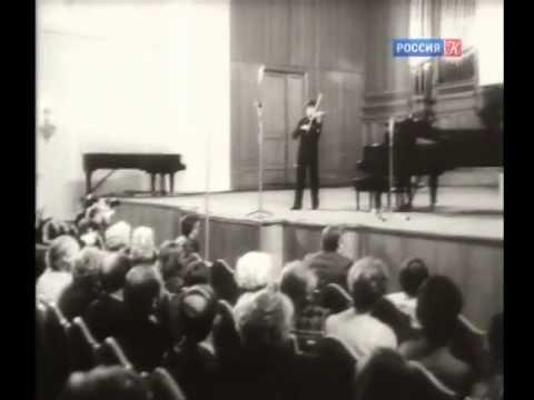 Sergei Stadler & Viktoria Mullova at Tchaikovsky Competition 1982