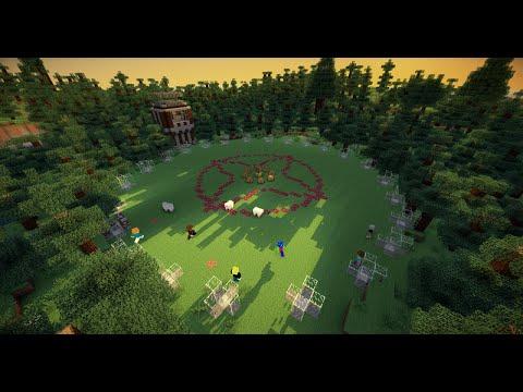 ทดสอบ Minecraft Hunger Games  - รับได้ 24 คนต่อ 1 รอบ
