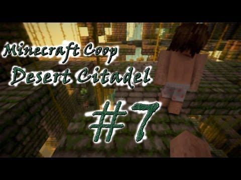 """Смотреть прохождение игры [Coop] Minecraft Desert Citadel. Серия 7 - """"Ифриты!?"""""""
