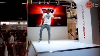 Marquese Scott @ FIBO 2014 - performance #2