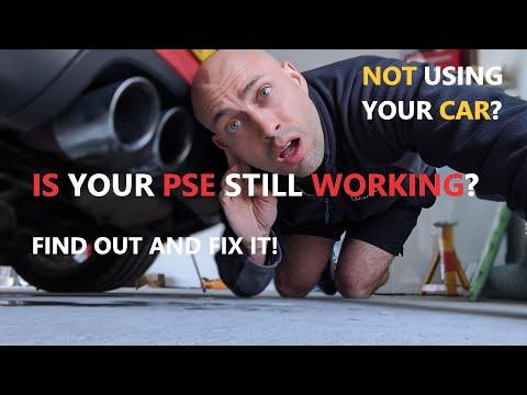 Porsche Sports Exhaust PSE is quiet or coolant light on? DIY fix 981, 991, 718, 997, 987, GT4 GT3