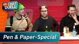 Chat Duell #4 | Pen & Paper Special: Spitze Stifte gegen Animal Squad