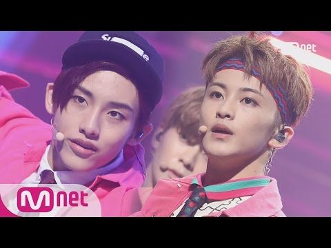 [NCT 127 - Cherry Bomb] Comeback Stage   M COUNTDOWN 170615 EP.528
