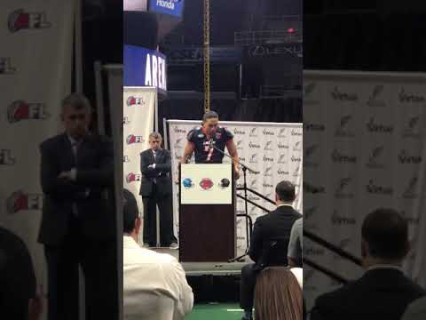 For the Love of Sports with Zach Harris - Arena Football Award Ceremony