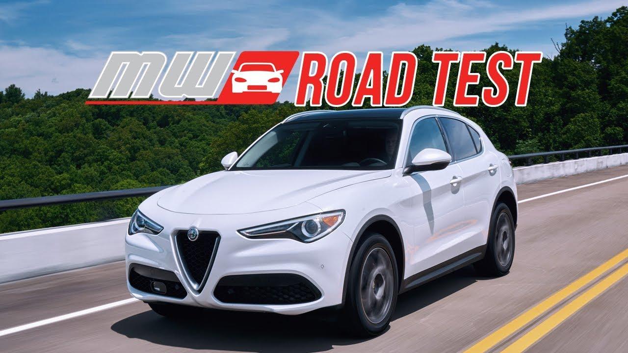 2018 alfa romeo stelvio   road test - youtube