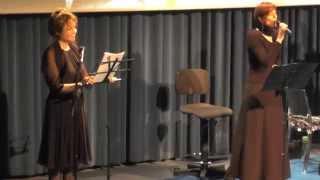 """Gabriella Gabrielli & Border Trio  """"Cara Mamma non Tremare....."""""""