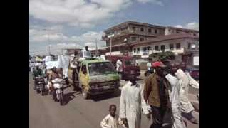Muslims Protesting about the anti Islam Film. Zaria , Nigeria