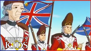 Liberty's Kids 109 - Bunker Hill | History Cartoon for Kids