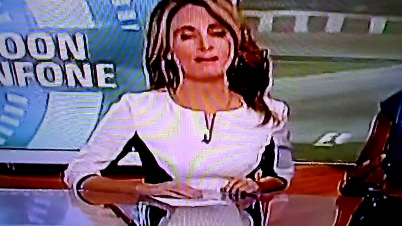 weather Girls nipples cold hard