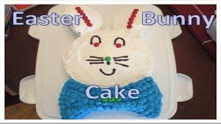 Easy Easter Bunny Cake!