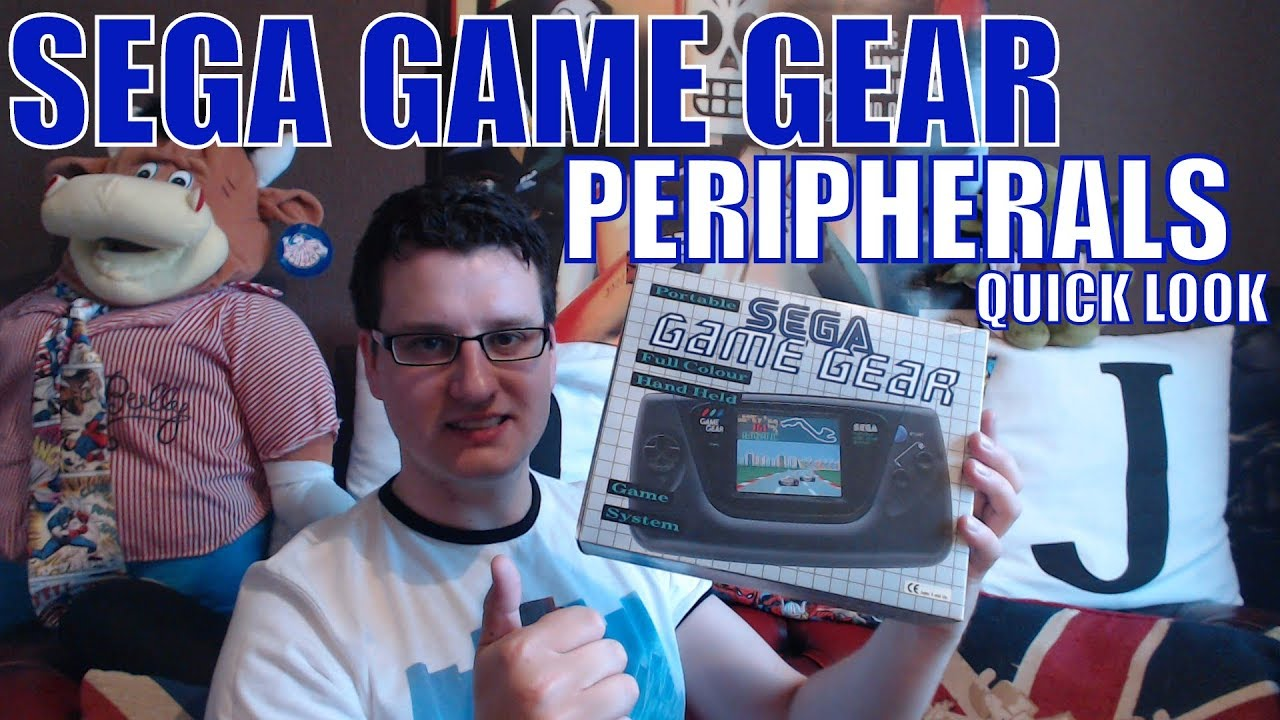 Sega Game Gear Peripherals / Accessories Collection | Quick Look
