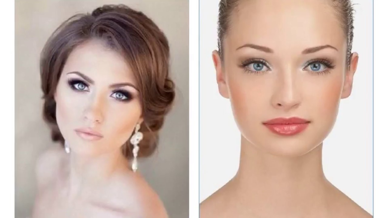 Wedding Makeup for Fair Skin and Blue Eyes - YouTube