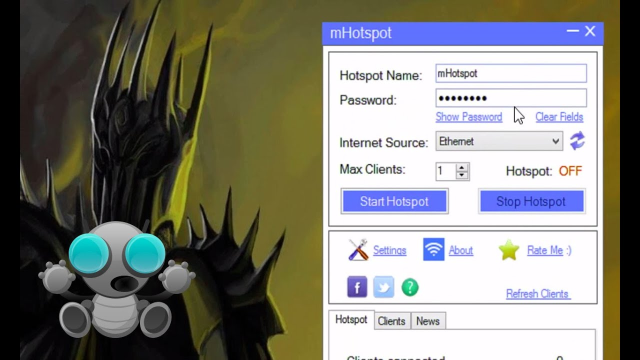 Hotspot for windows 8.1 free download