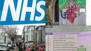 здравоохранение Англии * NHS * Как зарегистрироваться у доктора