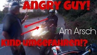 Angry Guy | Kind umgefahren!?