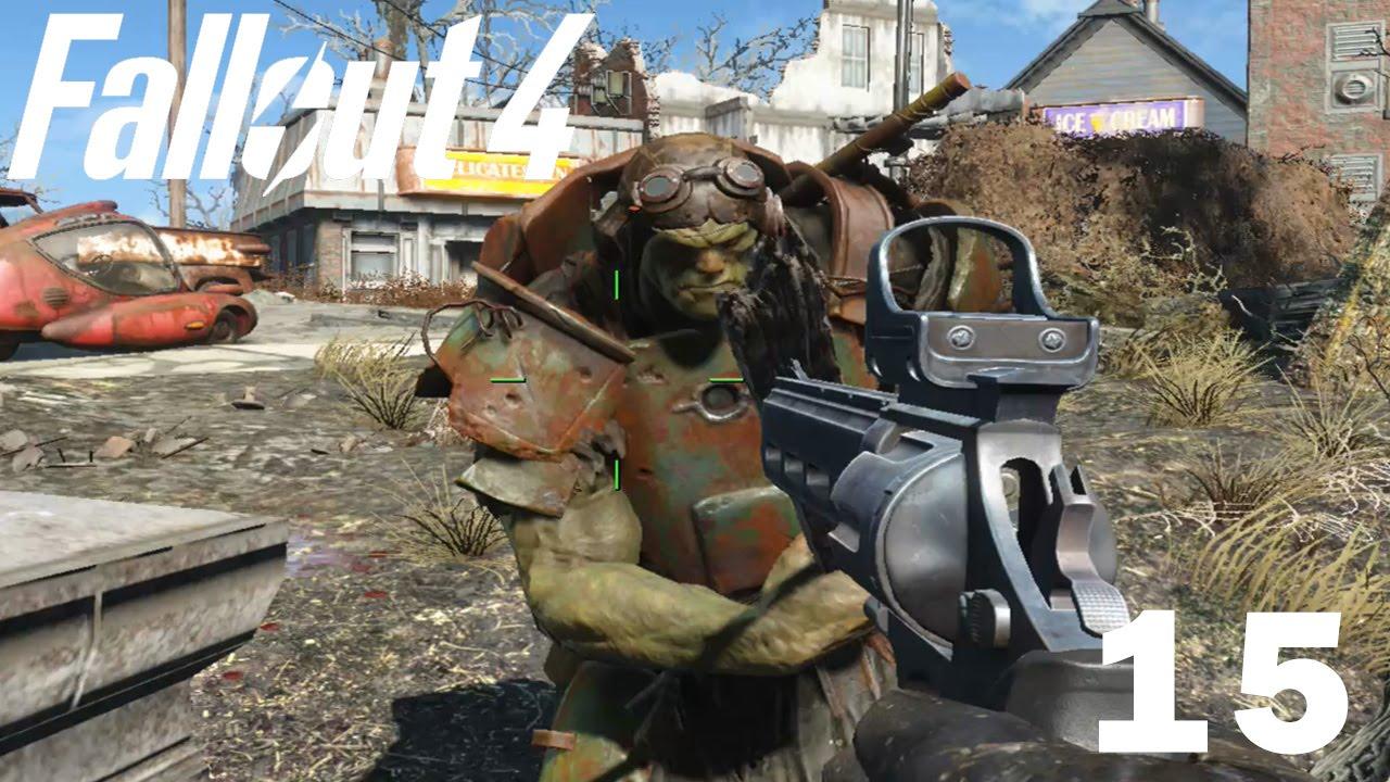 Fallout 4 Reflektorplattform