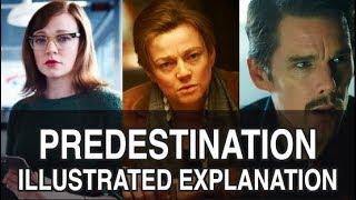 PREDESTINATION (2014) - ILLUSTRATED TIMELINE EXPLANATION