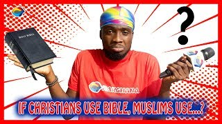 If Christians use the BIBLE, Muslims use...?   Street Quiz   Funny African Videos   African Comedy  