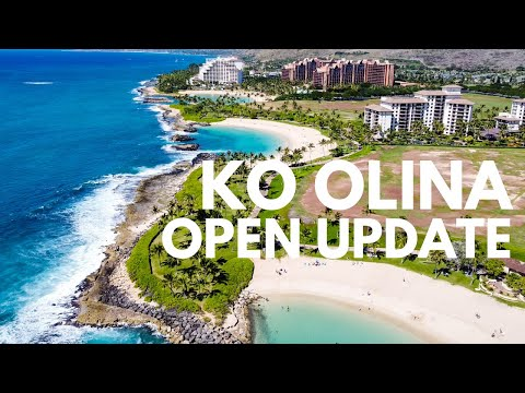 What is Open in Ko Olina, Hawaii? | Open Update for Disney Aulani, Hotels, Activities, & Eats