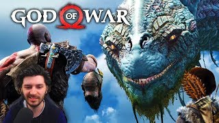 God of War PS4 Story Trailer & Release Date Reaction!