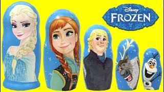 disney-frozen-2-elsa-anna-olaf-kristof-sven-nesting-dolls-matryoshka-magic-surprises