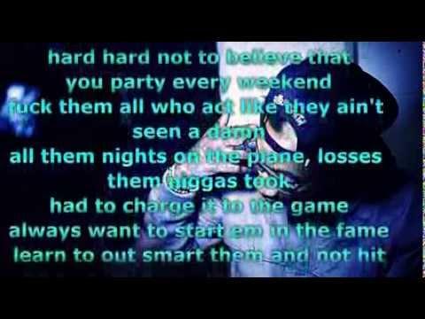Wiz Khalifa -Cameras Lyrics Video