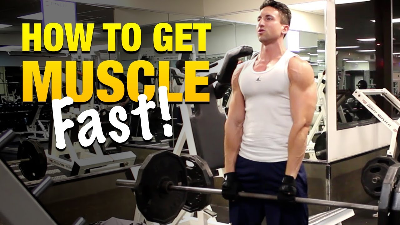 How to Get Muscle Fast: Stick With These Proven Compound ...