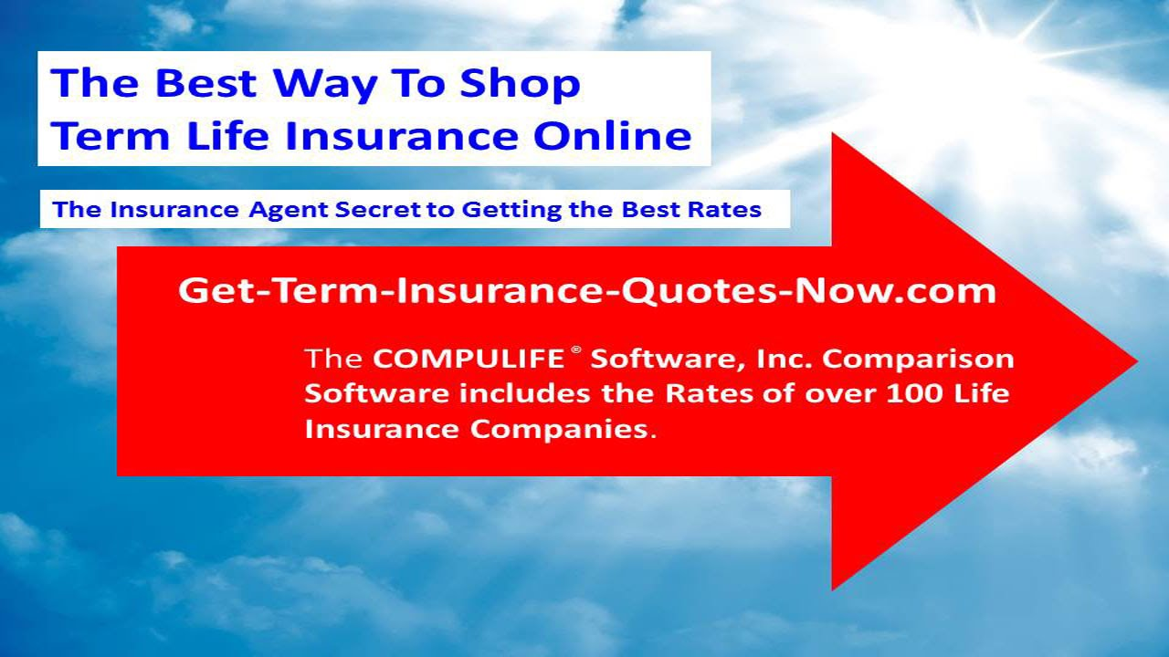 Get A Life Insurance Quote Get A Term Insurance Quote Now  Youtube