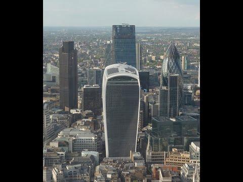 "The ""Walkie-Talkie"" Building London 2015"
