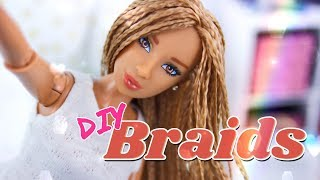 DIY - How to Make: Doll Braids | Braid your Dolls Hair today!!