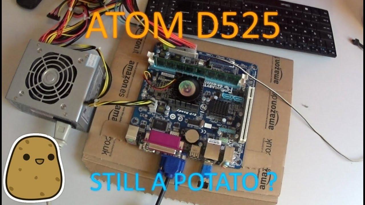 KartoffelGaming #3: Atom D525 + GT 610