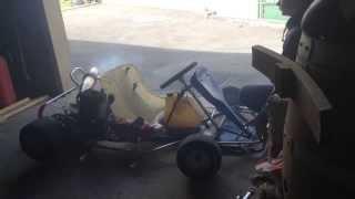 démarrage karting 100cc