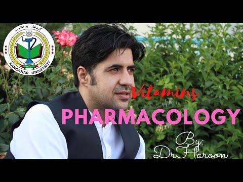 Vitamins Pharmacology