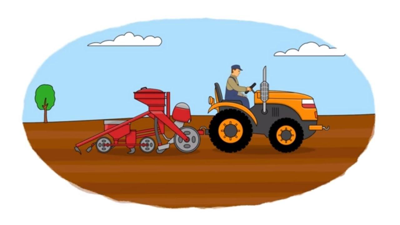A colorear! - Maquinaria agrícola - Vídeo infantil - YouTube