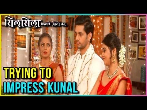 Nandini And Mauli Wear RED SAREE To IMPRESS Kunal | Silsila Badalte