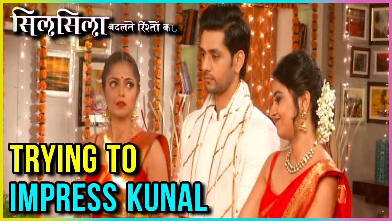 Nandini And Mauli Wear RED SAREE To IMPRESS Kunal | Silsila Badalte